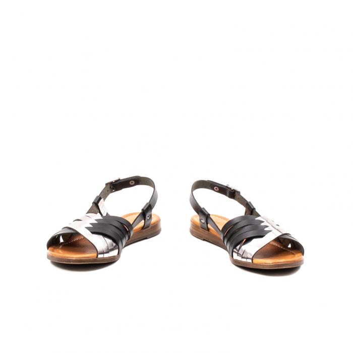Sandale dama casual, piele naturala, E51503 L2-N 4