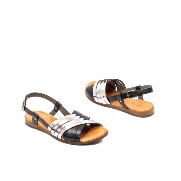 Sandale dama casual, piele naturala, E51503 L2-N 2