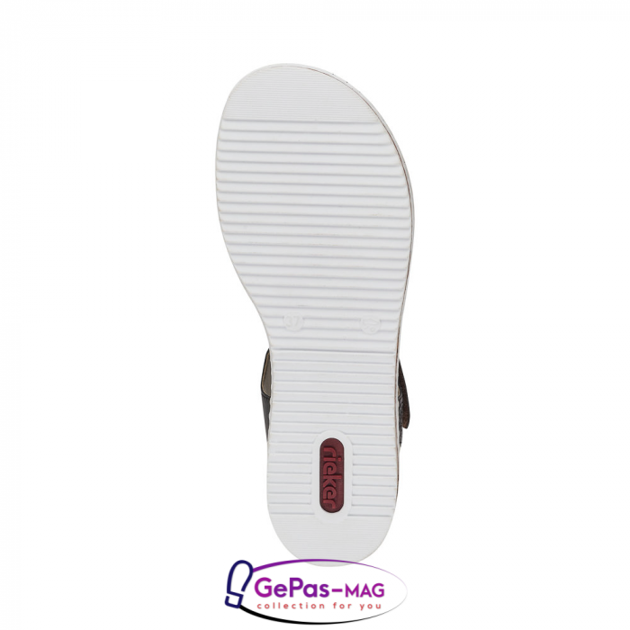 Sandale casual dama, piele naturala, V3677-25 5
