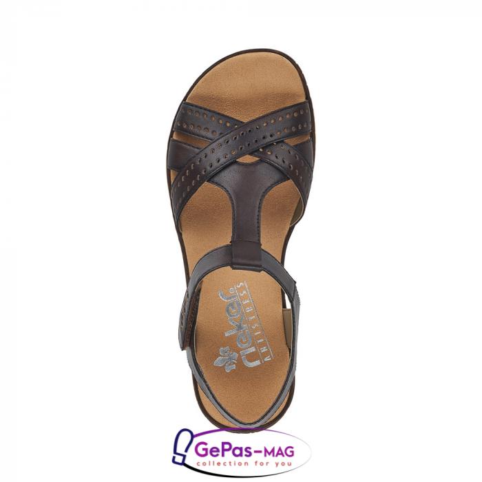 Sandale casual dama, piele naturala, V3677-25 1
