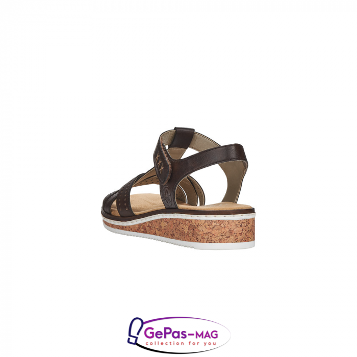 Sandale casual dama, piele naturala, V3677-25 2