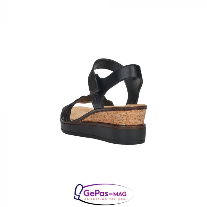 Sandale piele, casual V38F3-00 3