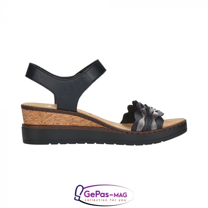 Sandale piele, casual V38F3-00 2