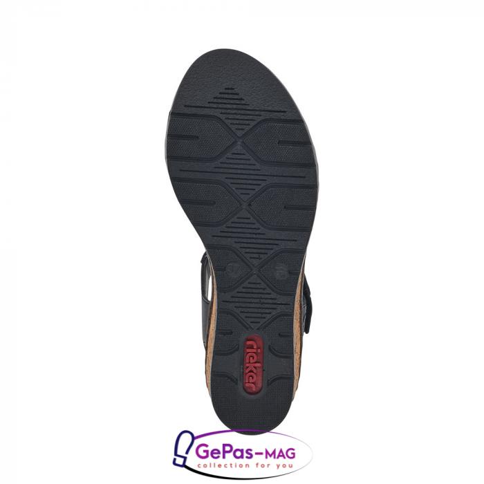Sandale piele, casual V38F3-00 6