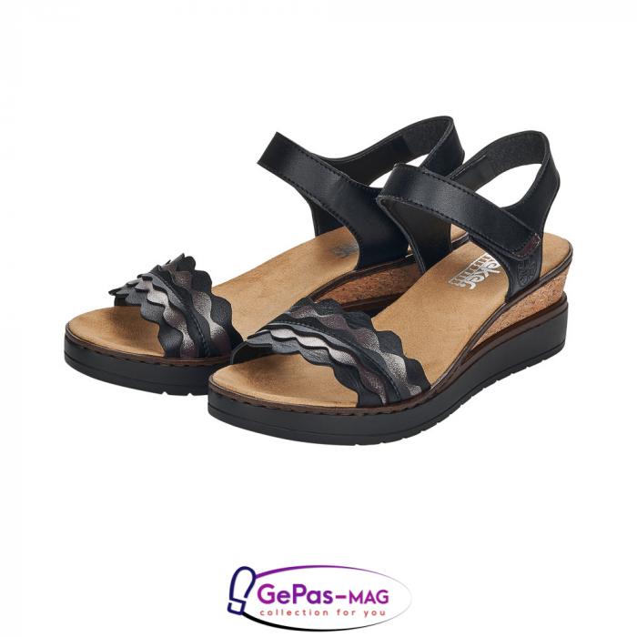 Sandale piele, casual V38F3-00 5