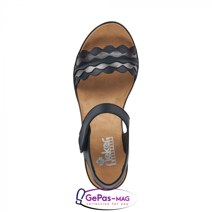 Sandale piele, casual V38F3-00 1