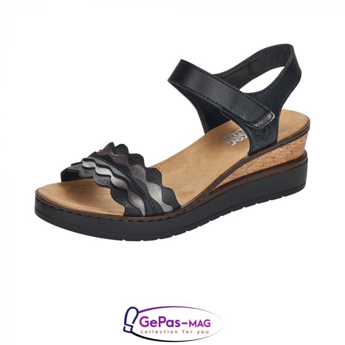 Sandale piele, casual V38F3-00 0
