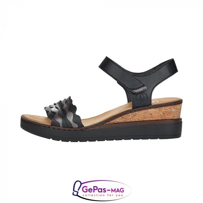 Sandale piele, casual V38F3-00 4
