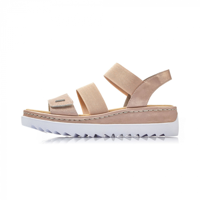 Sandale dama casual, piele naturala, RIK V4422-31 2