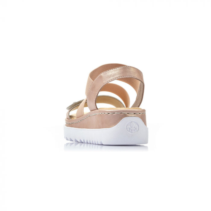 Sandale dama casual, piele naturala, RIK V4422-31 5