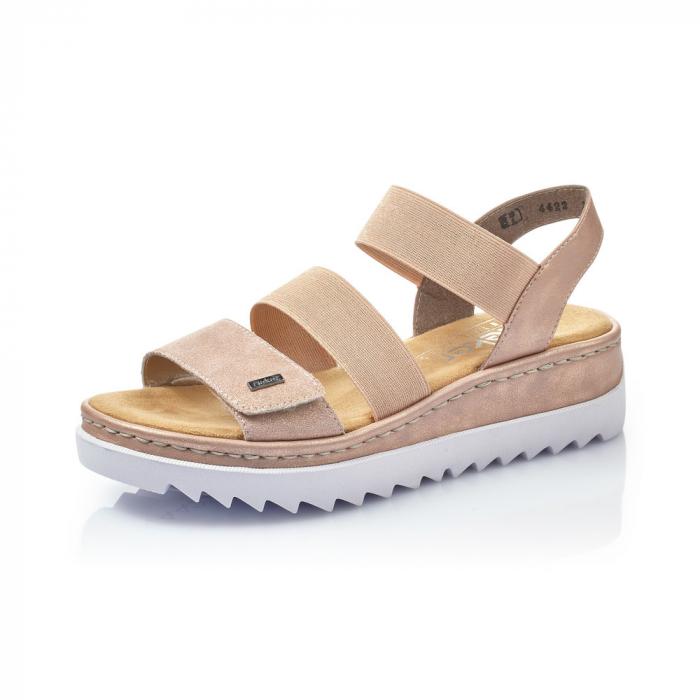 Sandale dama casual, piele naturala, RIK V4422-31 0