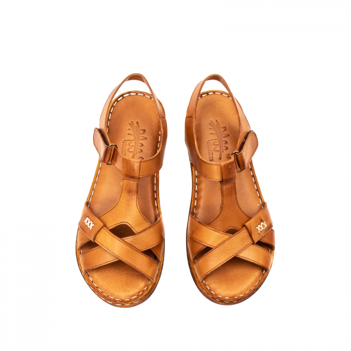 Sandale dama casual, piele naturala, Y2135 16-C [5]