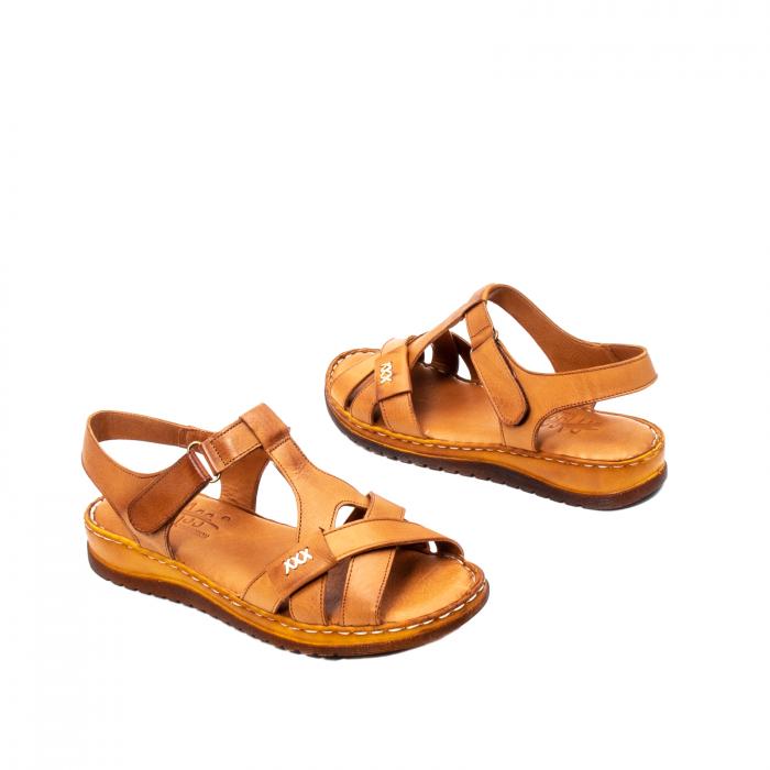 Sandale dama casual, piele naturala, Y2135 16-C [2]