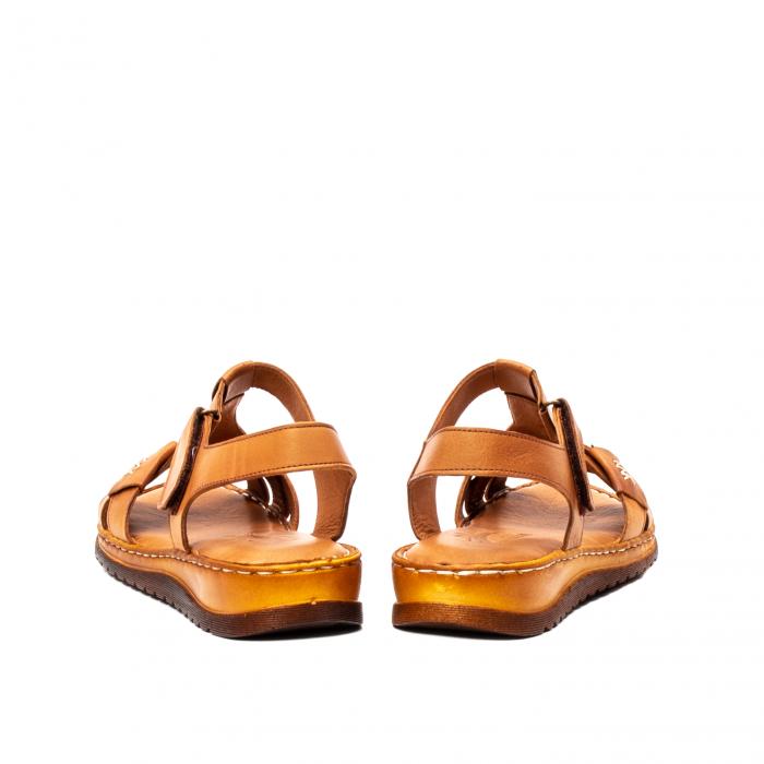 Sandale dama casual, piele naturala, Y2135 16-C [6]