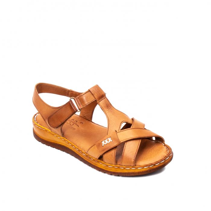 Sandale dama casual, piele naturala, Y2135 16-C [0]