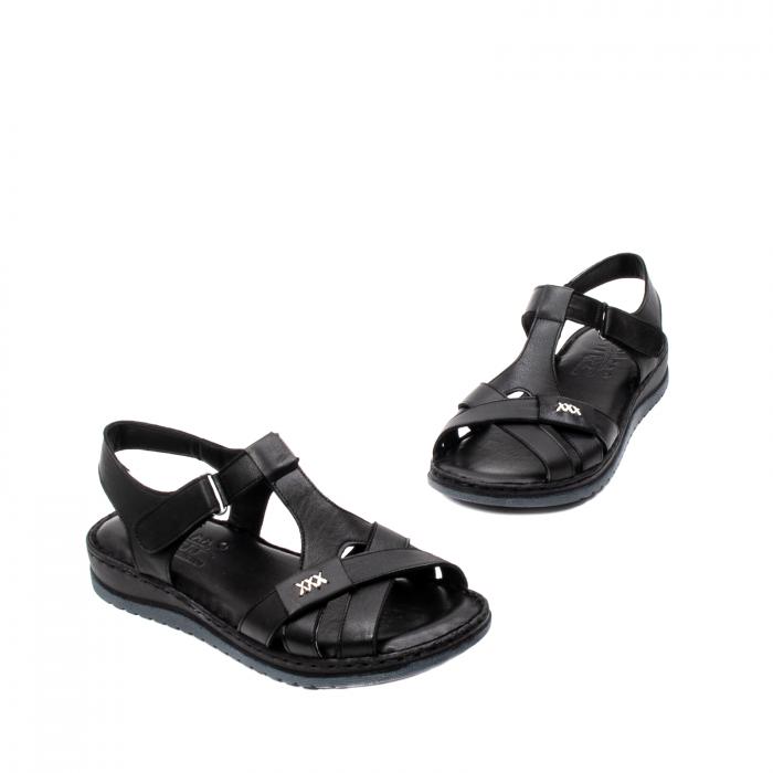 Sandale dama casual, piele naturala, Y2135 01-N 1