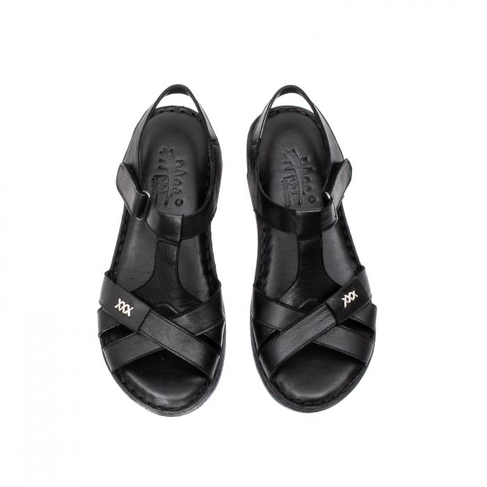 Sandale dama casual, piele naturala, Y2135 01-N 5