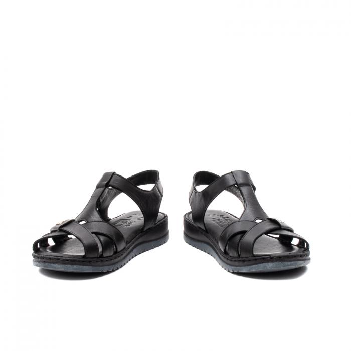 Sandale dama casual, piele naturala, Y2135 01-N 4