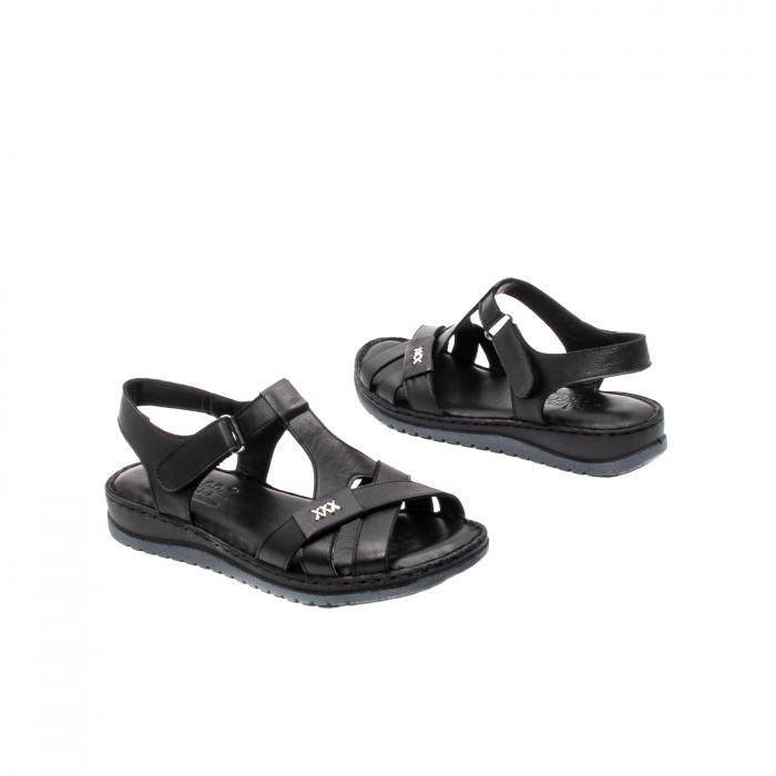 Sandale dama casual, piele naturala, Y2135 01-N 2