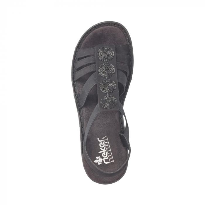 Sandale dama casual, RIK-60870-00 1