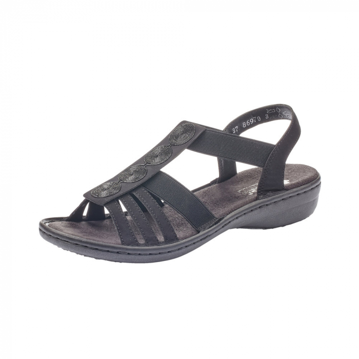 Sandale dama casual, RIK-60870-00 0