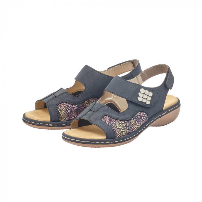 Sandale dama casual, RIK-65989-14 3