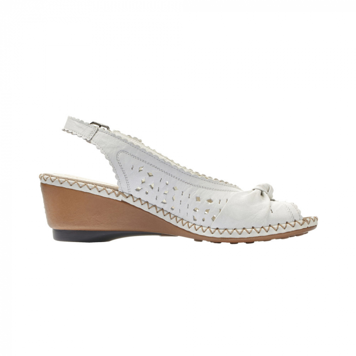 sandale dama rieker albe 2