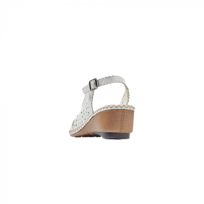 sandale dama rieker albe 5
