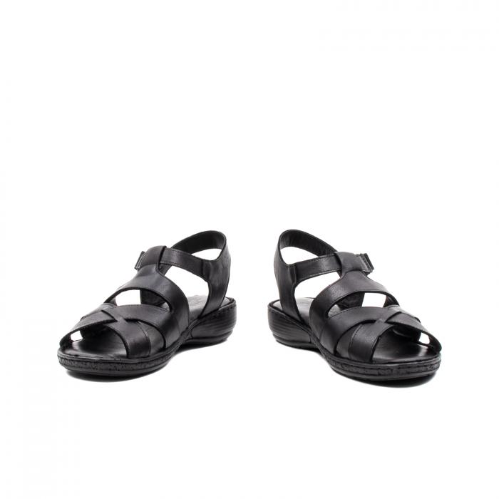 Sandale dama casual, piele naturala, E3430 N 4