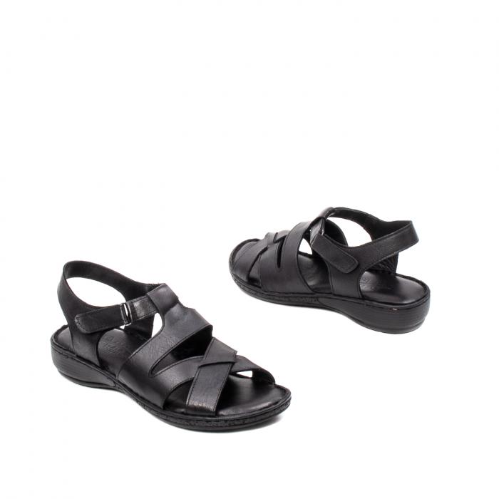 Sandale dama casual, piele naturala, E3430 N 2