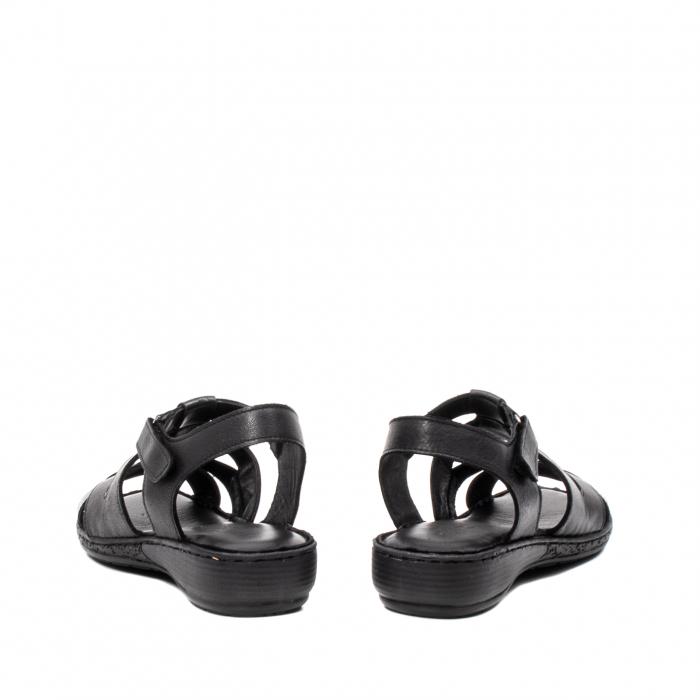 Sandale dama casual, piele naturala, E3430 N 6