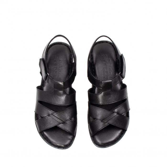Sandale dama casual, piele naturala, E3430 N 5