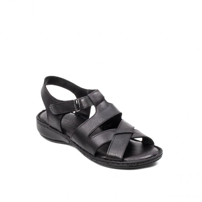 Sandale dama casual, piele naturala, E3430 N 0