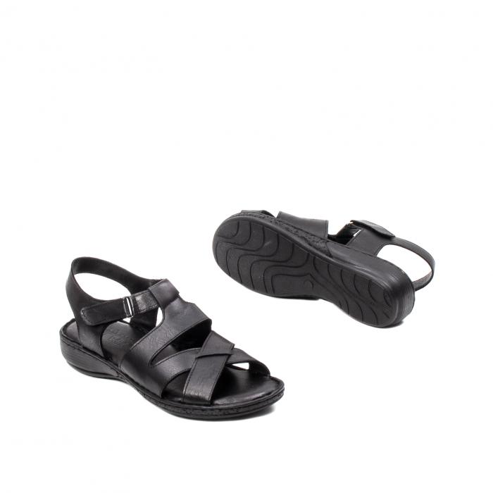 Sandale dama casual, piele naturala, E3430 N 3