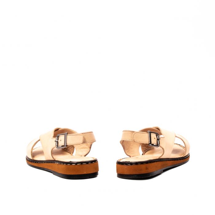 Sandale dama casual, piele naturala, E51203 B 6