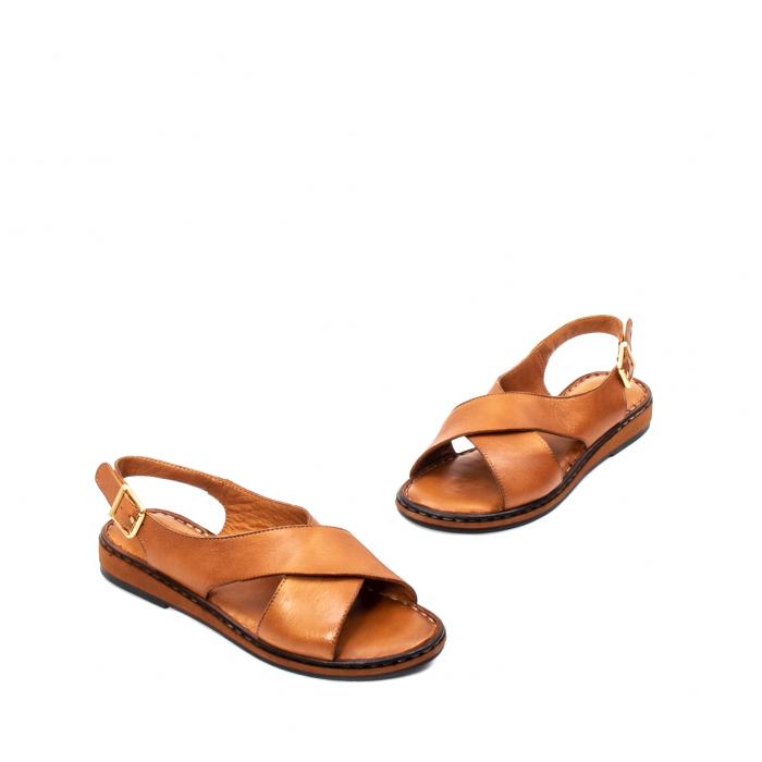 Sandale dama casual, piele naturala, E51203 C 1