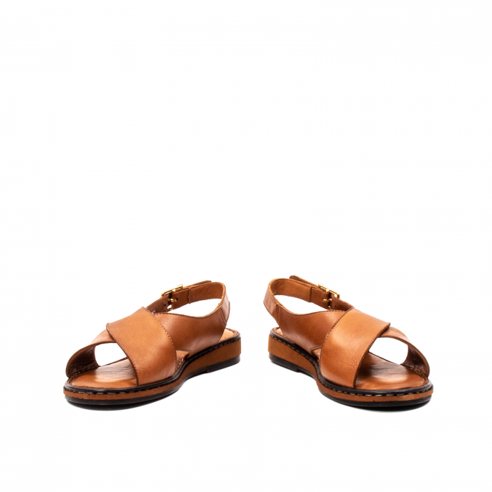 Sandale dama casual, piele naturala, E51203 C 4