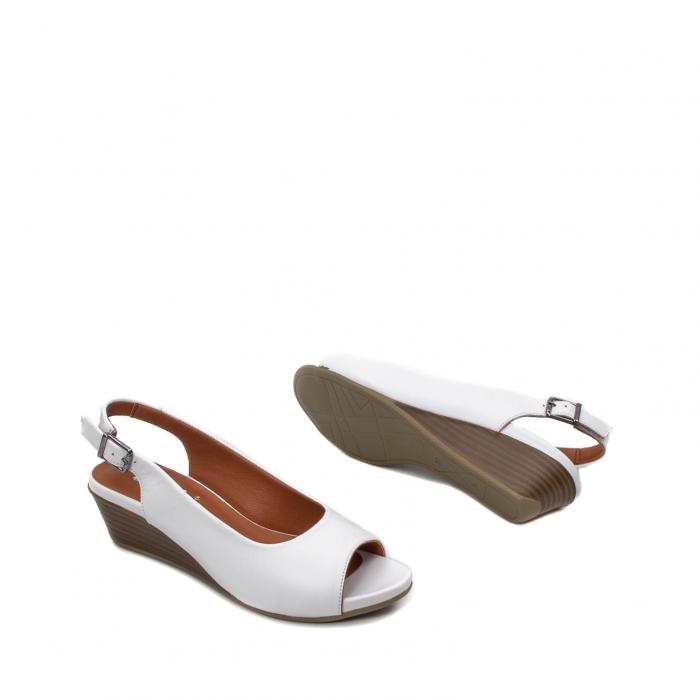 Sandale dama casual, piele naturala, ZJ606-3 A 3