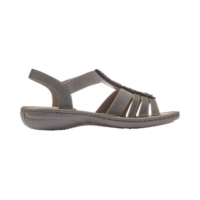 Sandale dama elegante, RIK-608G9 2