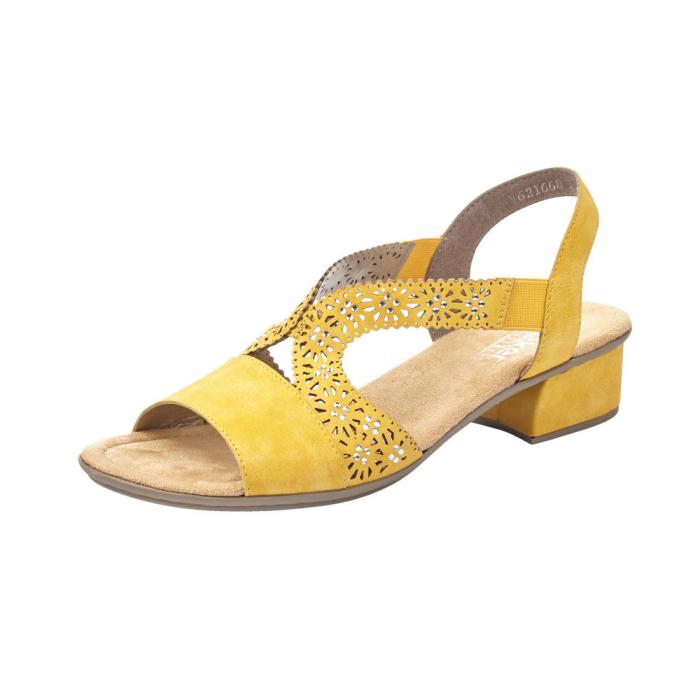 Sandale dama elegante, piele ecologica, RIK V6216-68 0