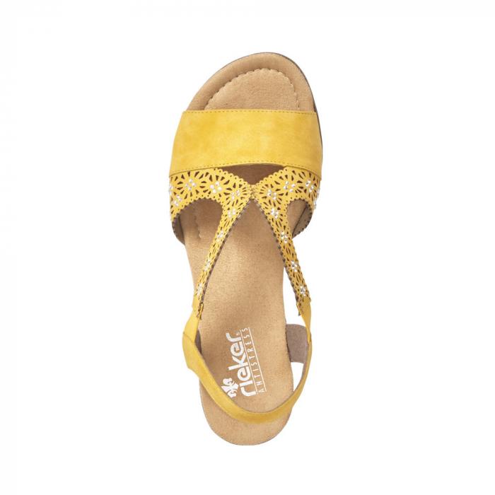 Sandale dama elegante, piele ecologica, RIK V6216-68 1