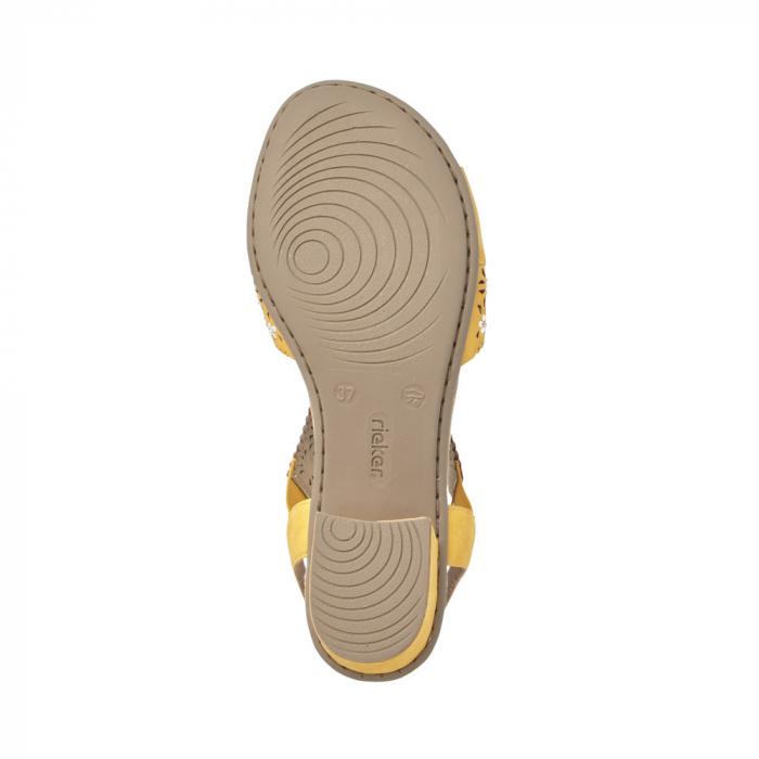 Sandale dama elegante, piele ecologica, RIK V6216-68 2