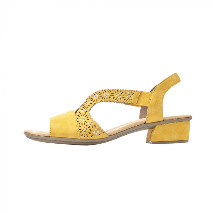 Sandale dama elegante, piele ecologica, RIK V6216-68 5