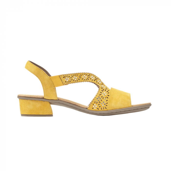 Sandale dama elegante, piele ecologica, RIK V6216-68 6