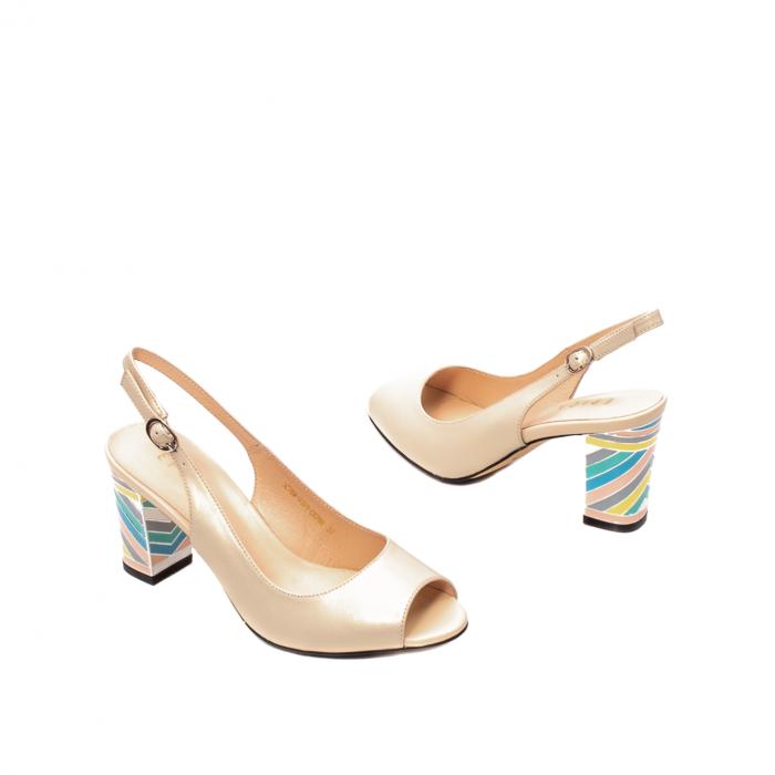 Sandale dama elegante, piele naturala, EP C679H 2