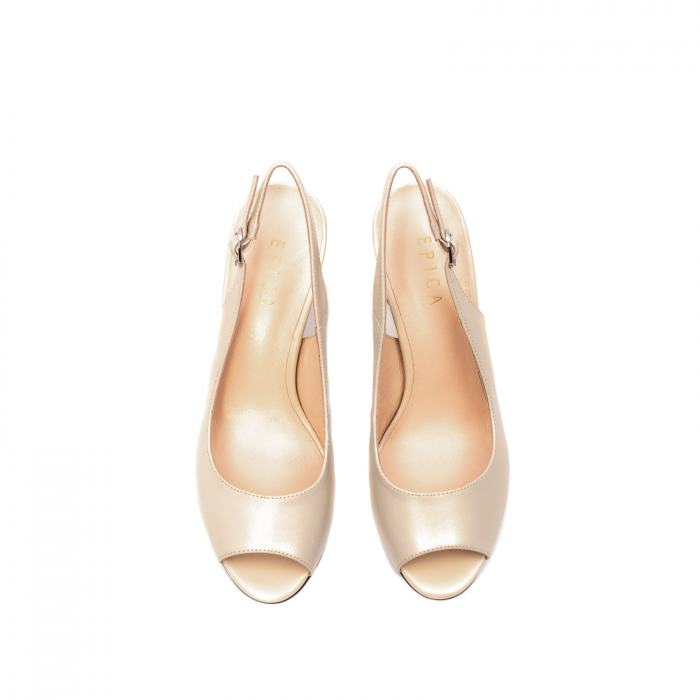 Sandale dama elegante, piele naturala, EP C679H 5