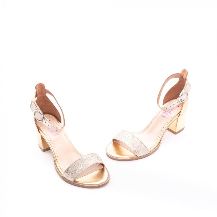 Sandale dama LFX  128 auriu box sidef 1