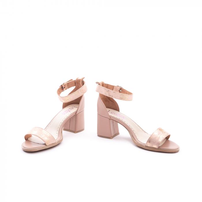 Sandale dama LFX 128 nude 4