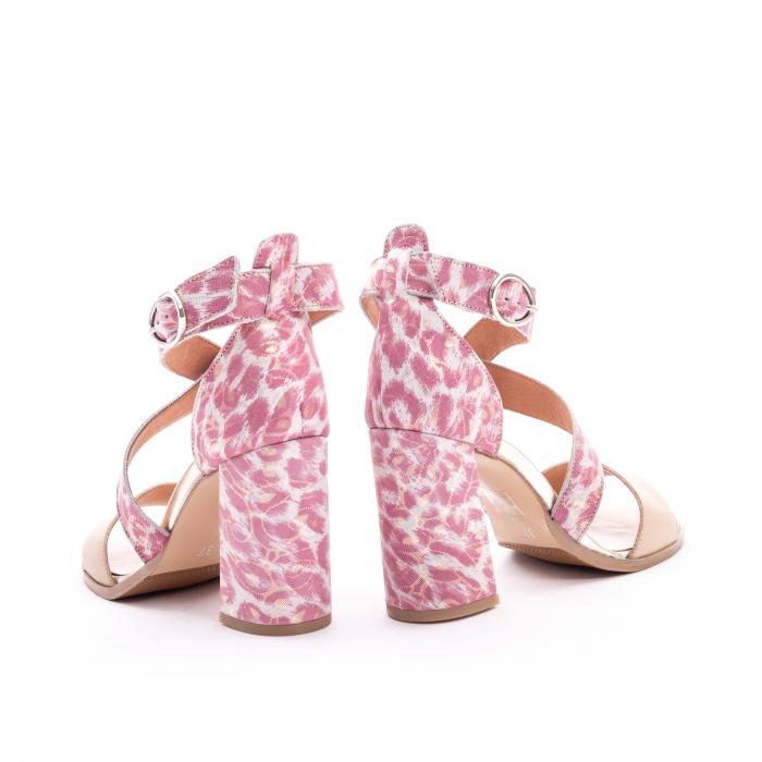 Sandale dama  LFX 139  nude roze 6