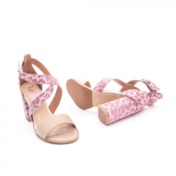Sandale dama  LFX 139  nude roze 2